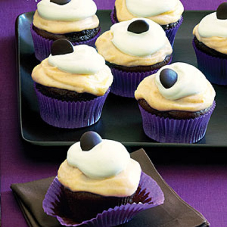 Chocolate-Pumpkin-Cupcakes