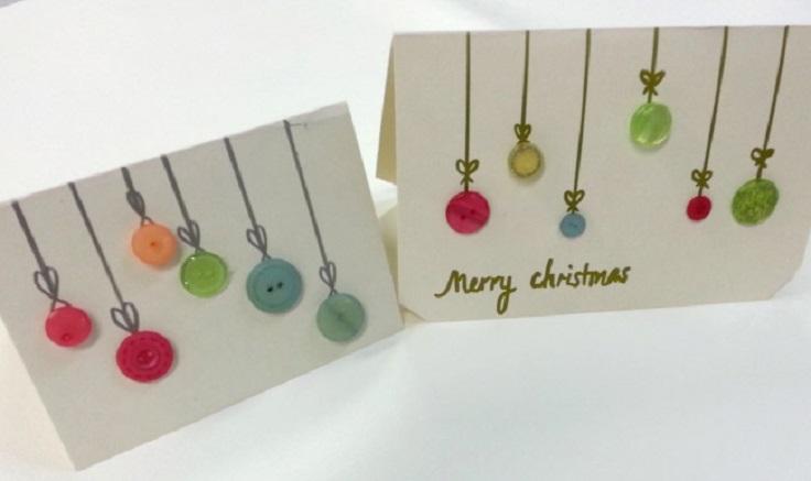 Christmas-Button-Card-Craft