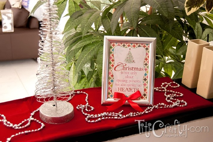 Top 10 DIY Christmas Picture Frames - Top Inspired