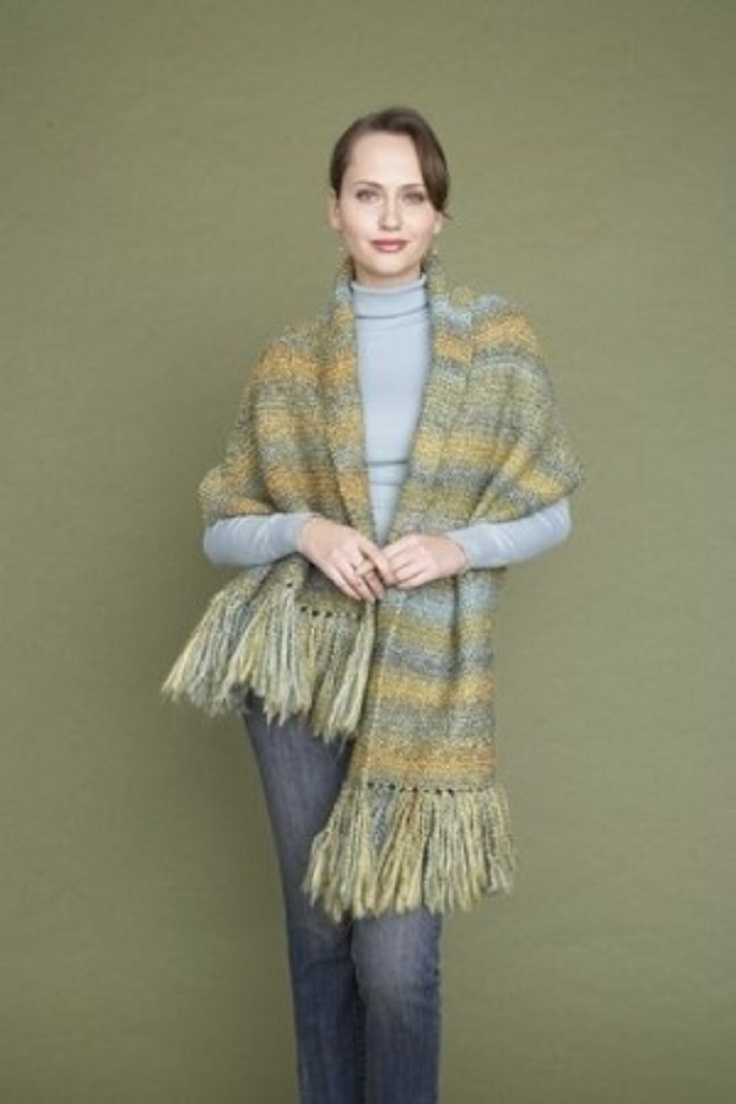Top 10 Free Knitting Pattern for Shawls - Top Inspired