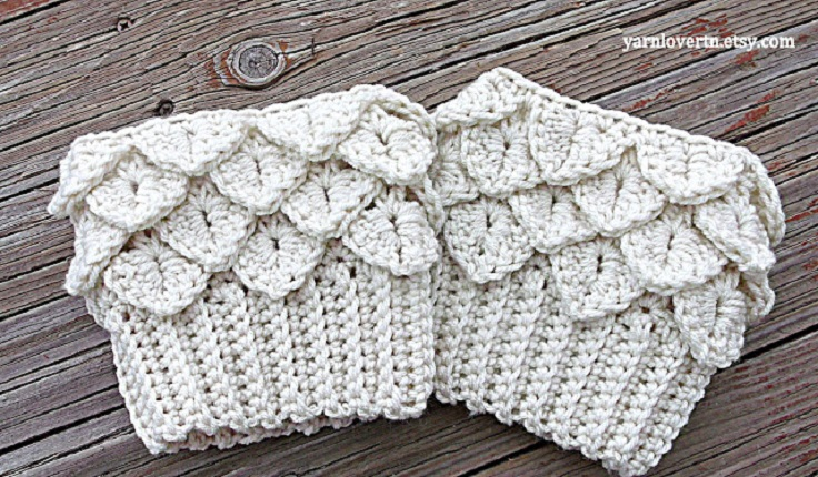 Top 10 Beautiful And Warm Free Boot Cuff Crochet Patterns Top Inspired