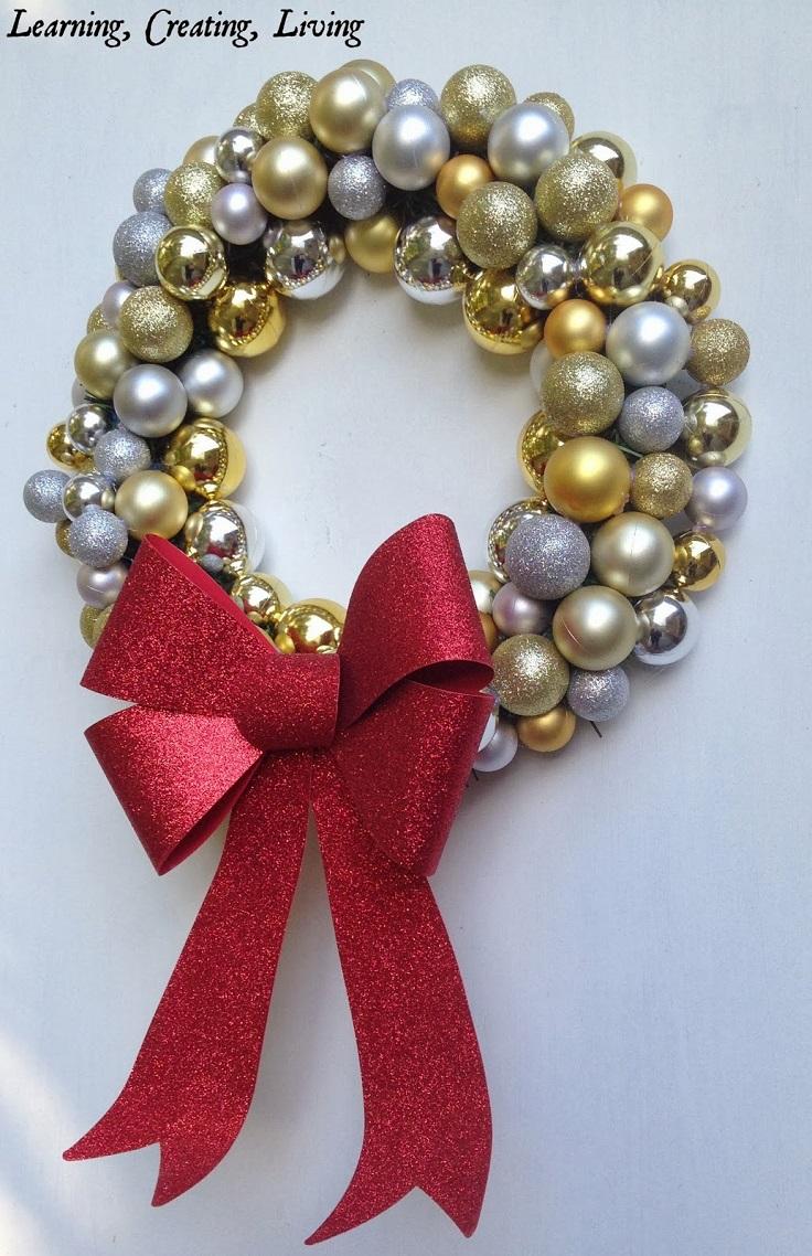 DIY-Christmas-Ornament-Wreath