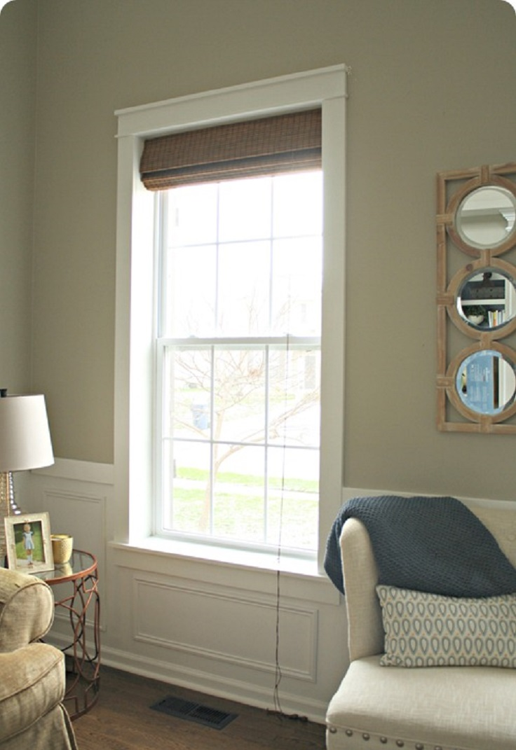 Diy interior window trim - Top 10 Amazing Diy Window Decorations
