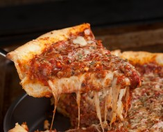 Deep Dish Pizza-Chicago Style