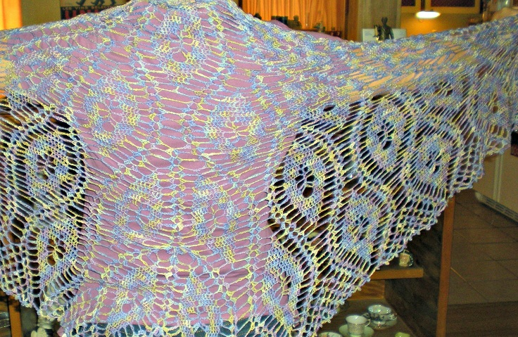 Diamond-Shawl