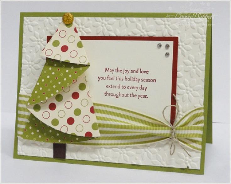 Folded-Christmas-Tree-Card