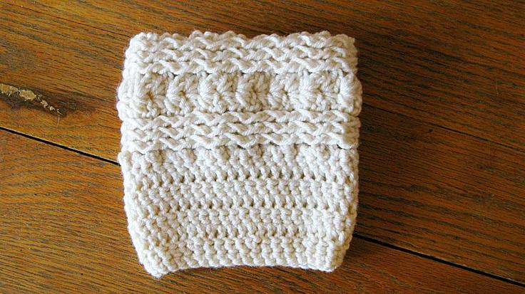 Free-Waves-and-Seashells-Boot-Cuff-Pattern