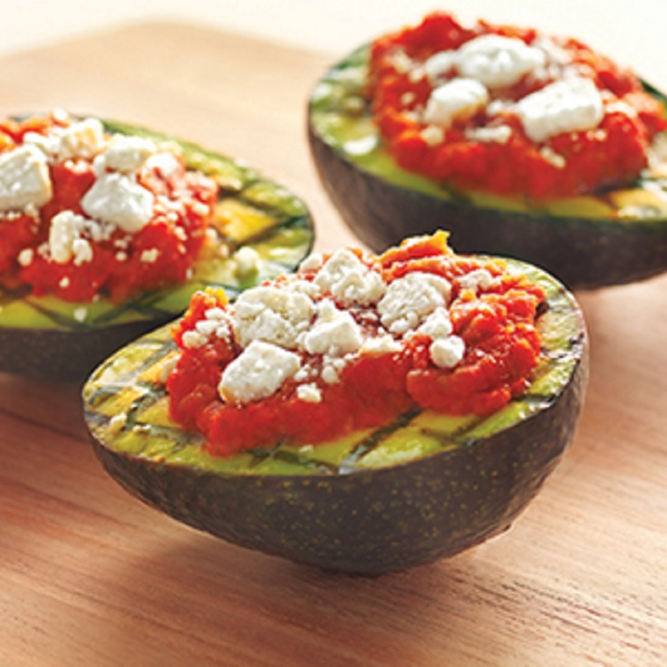Grilled-Avocados-with-Vegetables