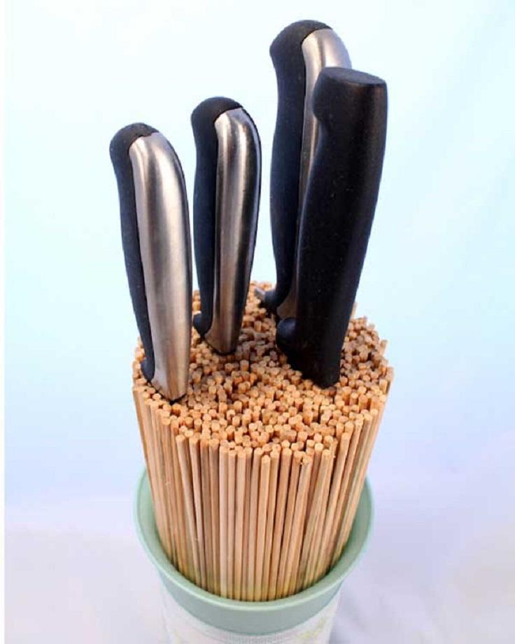 Knife Utensil Holder. Ideas To Improve Your Kitchen 7