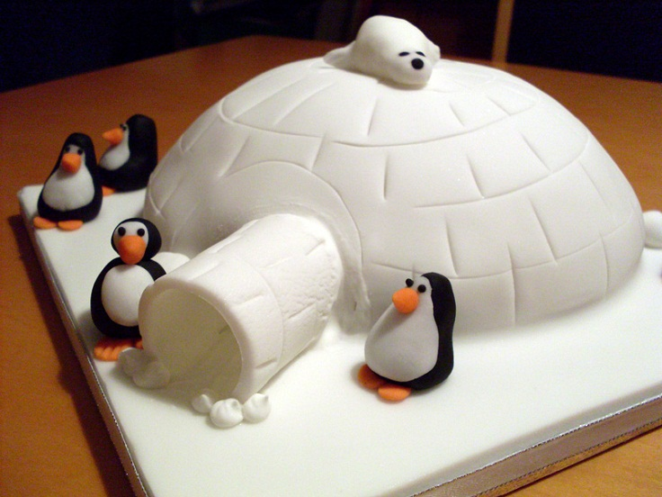 Igloo Cake Ideas