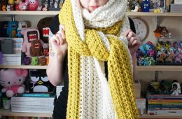Top 10 Beautiful Free Crochet Scarf Patterns | Top Inspired
