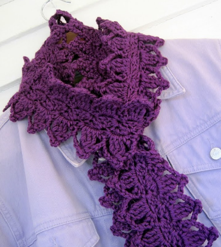 Top 10 beautiful free crochet scarf patterns top inspired top 10 beautiful free crochet scarf patterns dt1010fo