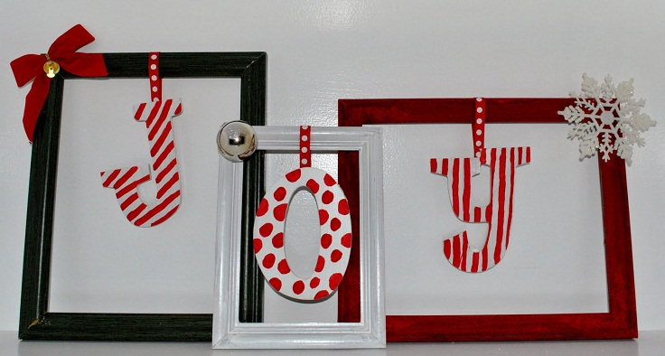 Top 10 Diy Christmas Picture Frames Top Inspired