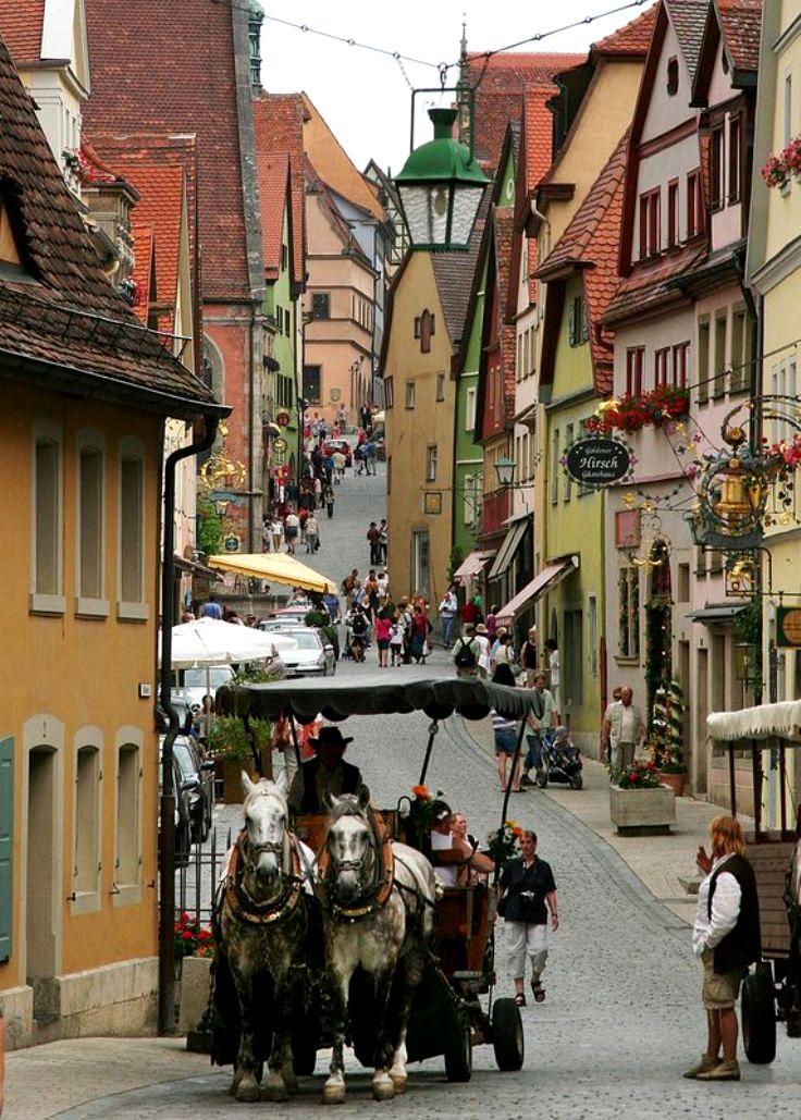Rothenburg-Bavaria-Germany