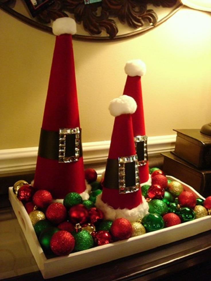 Santa-Decorative-Cones
