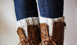 Top 10 Beautiful and Warm Free Boot Cuff Crochet Patterns | Top Inspired