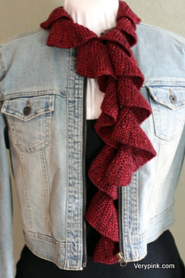 Free Knitting Pattern For Spiral Scarves : Top 10 Beautiful Free Crochet Scarf Patterns - Top Inspired