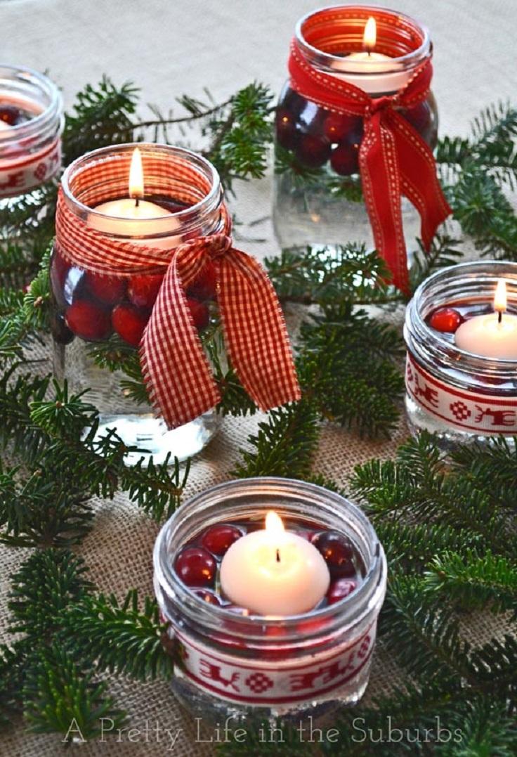 Top 10 DIY Christmas Mason Jar Crafts | Top Inspired