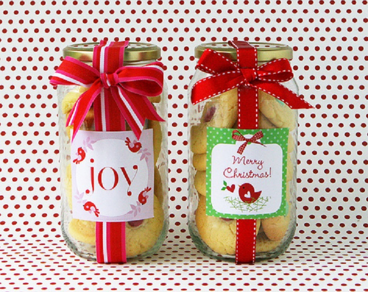 How To Decorate A Cookie Jar Simple Top 10 Mason Jars Christmas Decorations For Your Cookies  Top Inspiration
