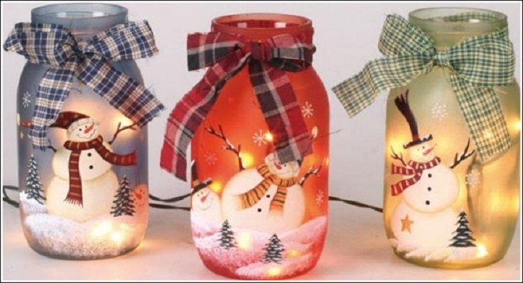 Top 10 DIY Christmas Mason Jar Crafts - Top Inspired