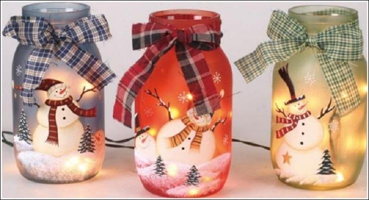 Top 10 DIY Christmas Mason Jar Crafts