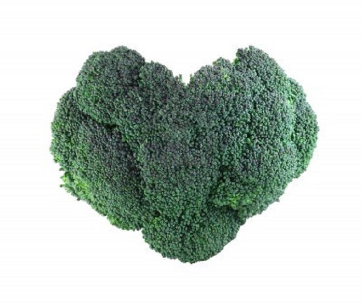 Resultado de imagen para broccoli heart shape