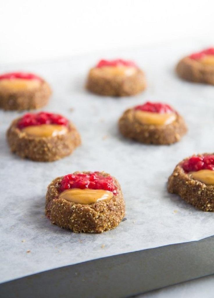nobake-peanut-butter-jam-cookies
