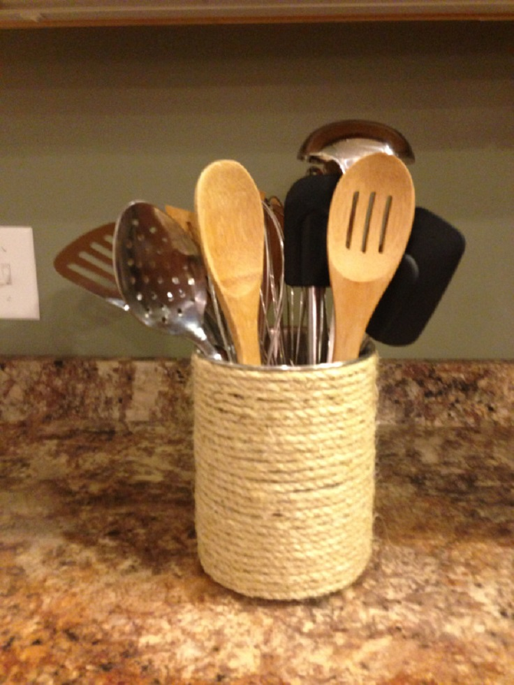 Diy Kitchen Utensil Holder Images Galleries With A Bite