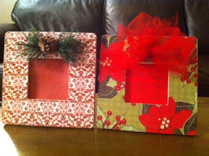 Top 10 DIY Christmas Picture Frames