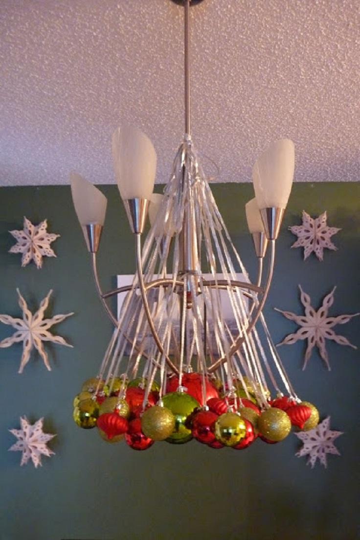 amazing christmas chandelier - Christmas Chandelier Decorations