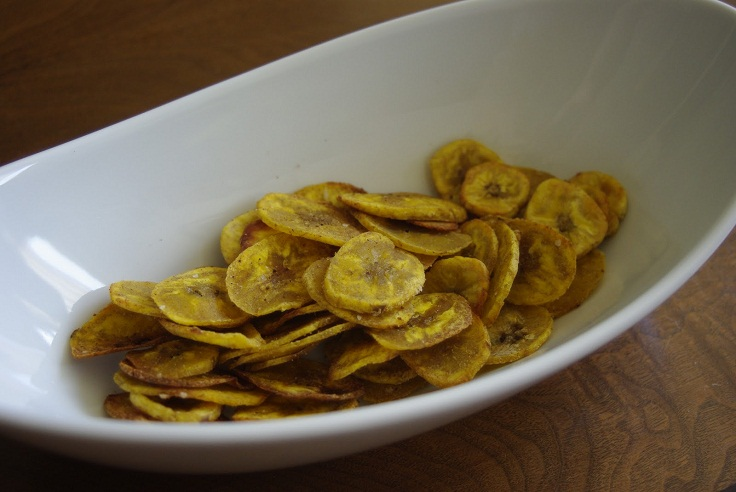 Baked-Plantain-Chips