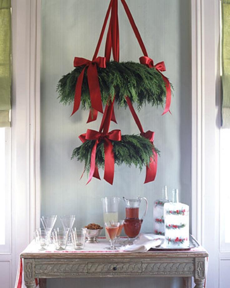 Top 10 diy christmas chandelier decorations top inspired for Christmas chandelier decorations ideas