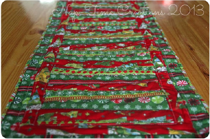 Top 10 free sewing patterns for your kitchen top inspired for 10 minute table runner with batting