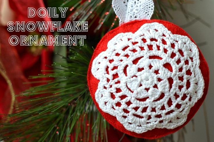 Doily-Snowflake-Ornament
