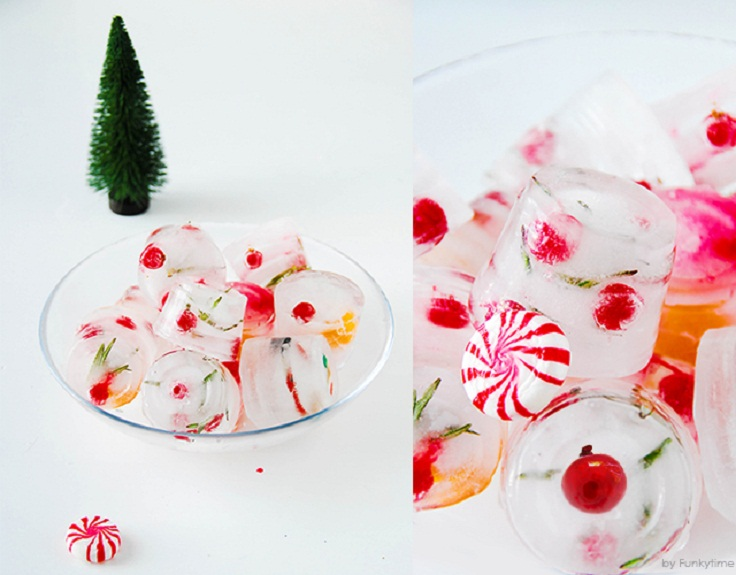 Make-Christmas-ice-cubes-for-festive-drinks