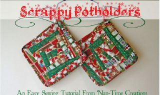 Scrappy Potholders