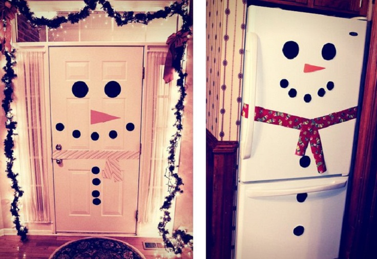 Turn-your-fridge-into-a-snowman