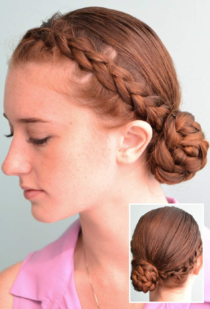 side bun hair style hairstyles with hair fade haircut 6521