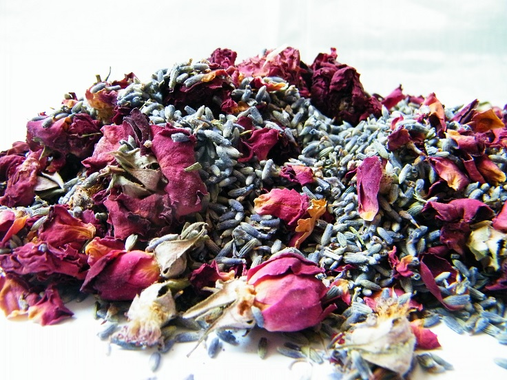 burgundy_lavender_rose_potpourri