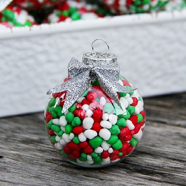 top 10 diy fun and easy ways to dress up christmas ornaments - Candy Ornaments For Christmas Tree