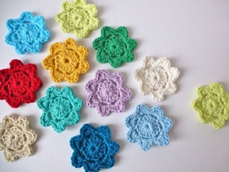 Crochet Flower Pattern Top Dancox For