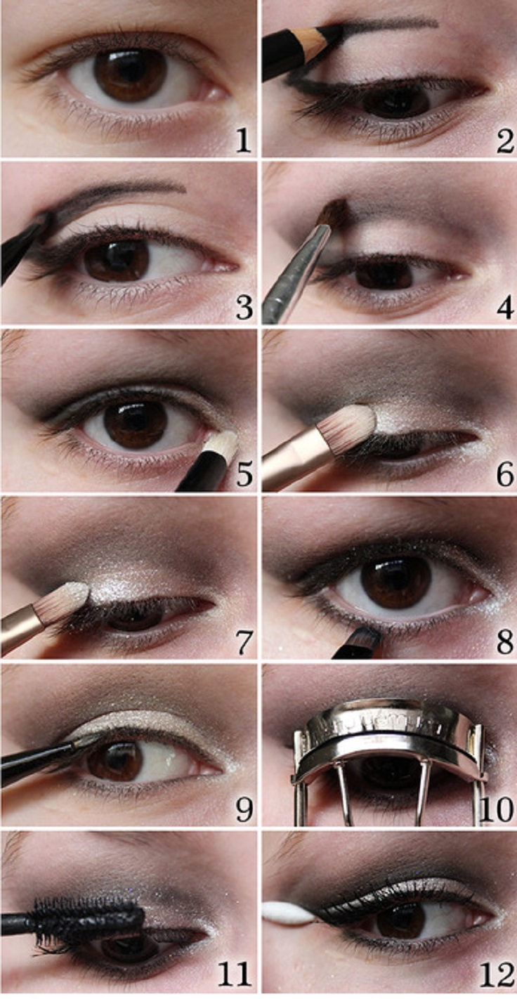 By Eye Evening Makeup Eyes Step makeup Step eye natural Natural  tutorial makeup  wiki  Green For