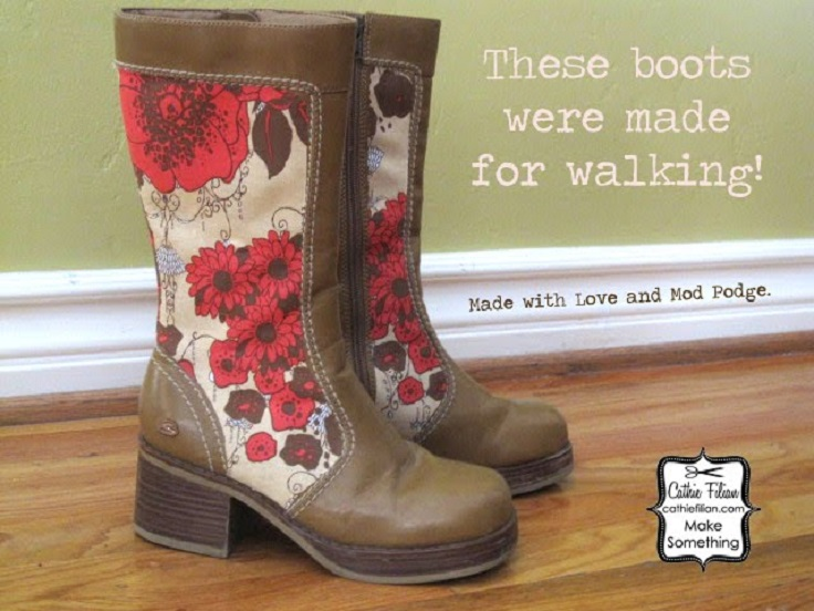 flower-pattern-boots-makeover