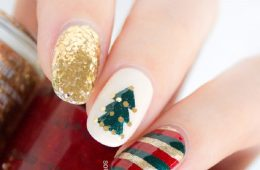 Top 10 Wonderful DIY Christmas Nail Art Ideas | Top Inspired