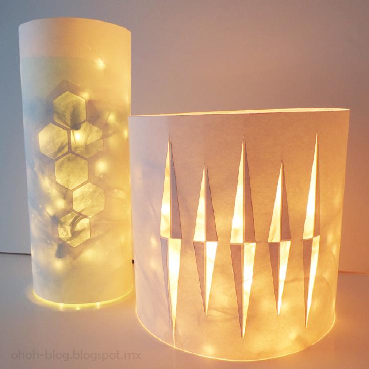 lantern-with-christmas-lights