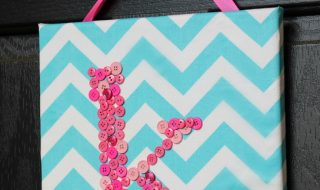 monogrammed-button-canvas-wall-art