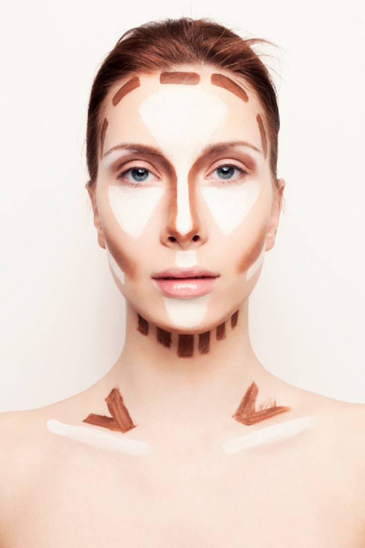 Top 10 Whole Body Makeup Contouring Guide Top Inspired