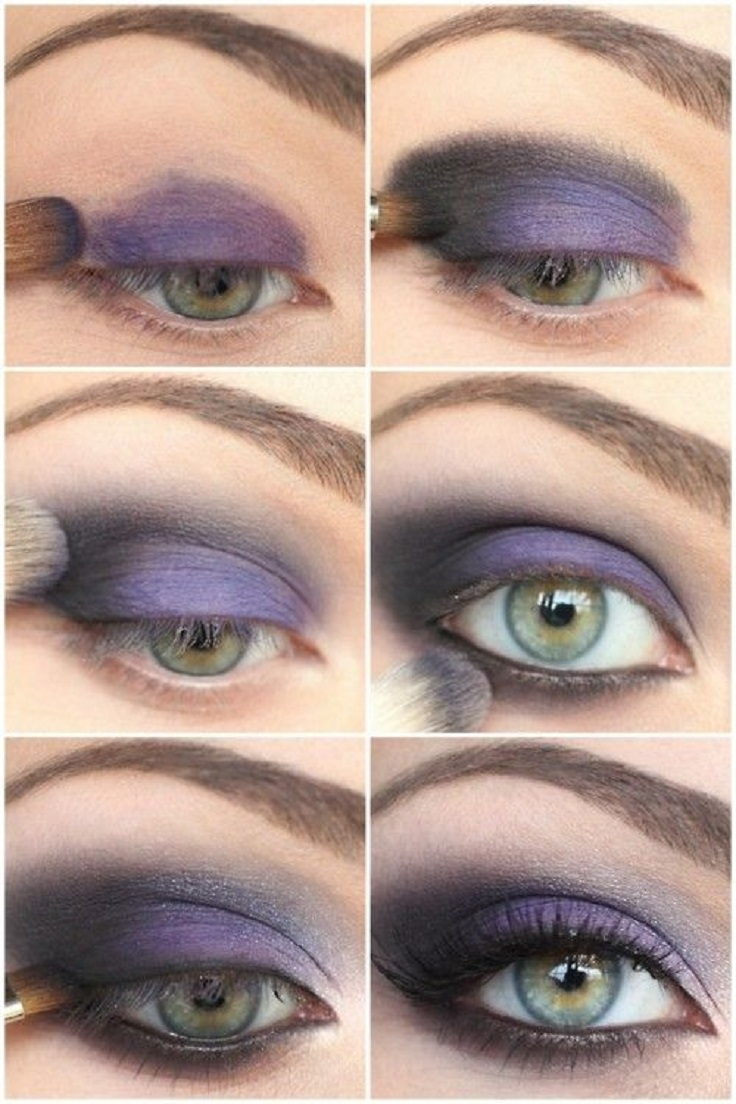 Purple Eyeshadow Tutorial: Top 10 Makeup Tutorials For Seductive Eyes