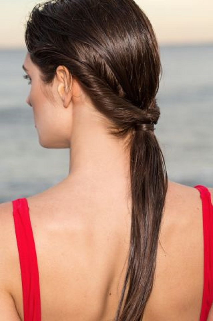 Top 10 Fast Hairstyles For Wet Hair - Top Inspired