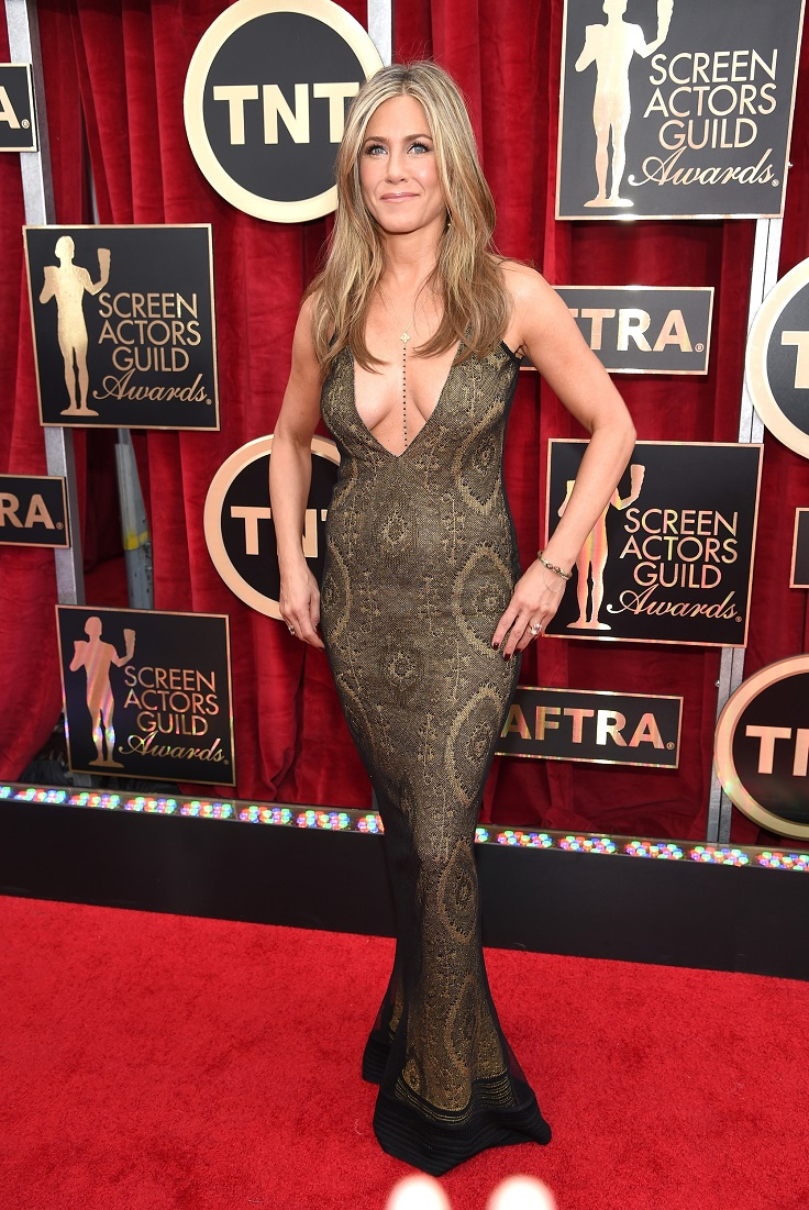 21st-annual-screen-actors-guild-awards-red-carpet-jennifer-aniston